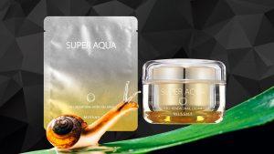Missha Super Aqua Cell Renew -tuotteiden pääainesosia ovat etanan lima ja baobabpuun hedelmien sekä aasialaisen ginseng-rohdoskasvin uutteet. Etanan lima sisältää ihosolukkoa parantavia ja uusiutumista tehostavia luonnollisia ainesosia.